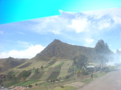 Quilatoa countryside