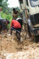 locals lending a hand