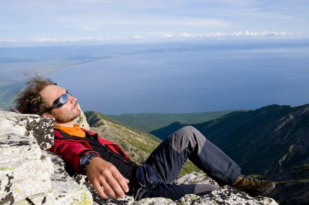 Svyatoi Nos peninsula on Baikal
