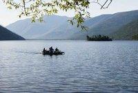 Lake Baikal's endless open waters