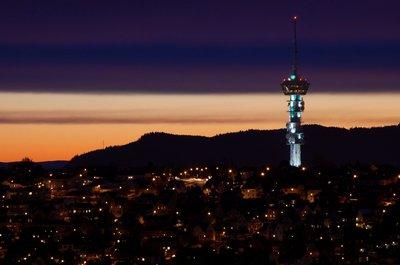Sunrise in Trondheim