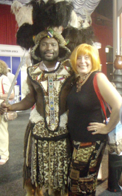 Zulu Warrior in SunCity