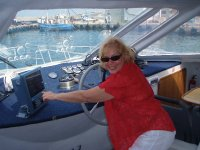 Only wishing I could drive the catamaran in Hermanus for an eco-marine boat tour