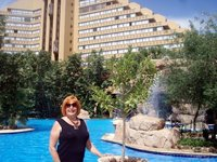 This is where I stayed in Sun City, South Africa