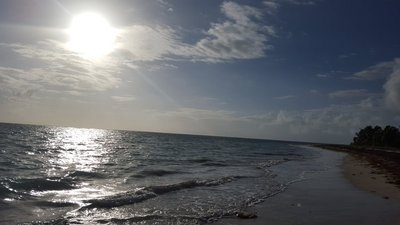 LCI beach early morning daily walk