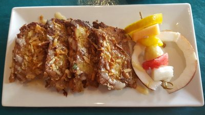 Best coconut French toasts of the island.