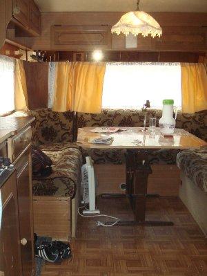 Wohnwagen - Wohnzimmer