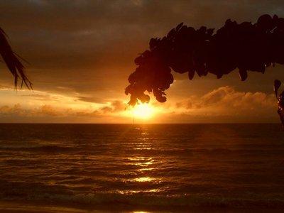Sunset in Naviti