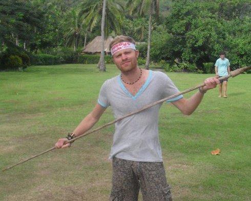 Spear throwing in Fiji