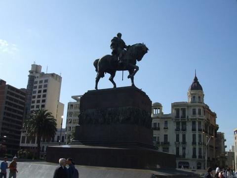 Uruguay José Gervasio Artigas Statue
