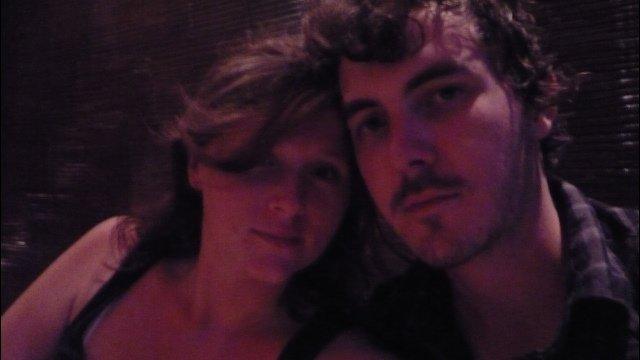 Laura and Adam on Adam's 25th