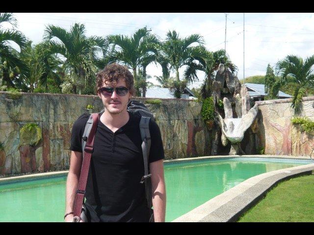 Adam at Lodge in Carmen