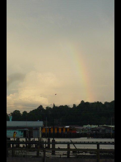 Rainbow over Kampong Ayer