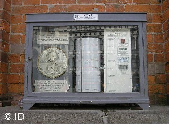 Meteo station recording the data - Venice