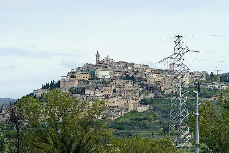 Cranes in Trevi - Umbria