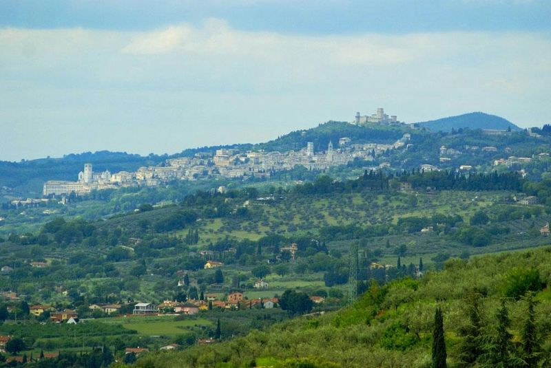 Marvellous views of Assisi (from Belvedere) - Italy