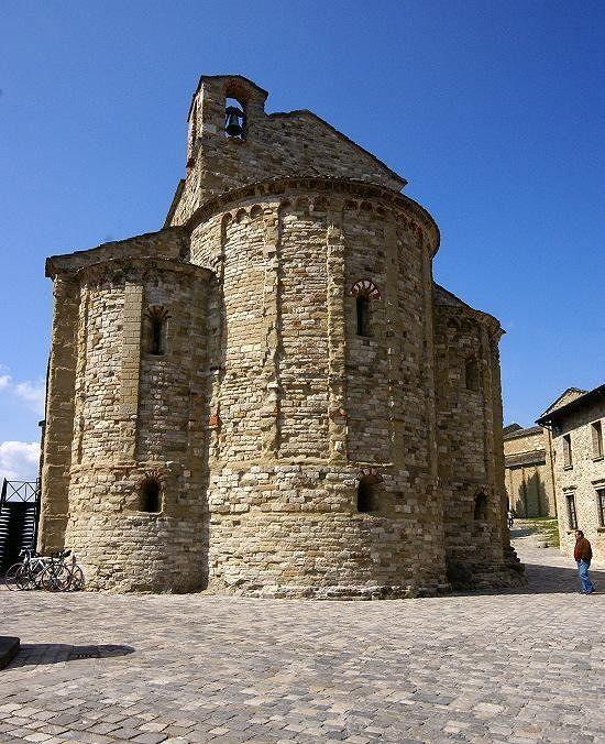 Very old churches (San Leo) - Italy
