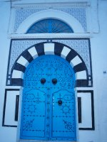 Blue Door in Sidi Bou Said