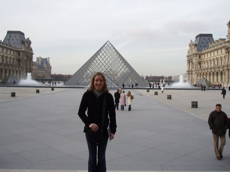 Visiting the Louvre
