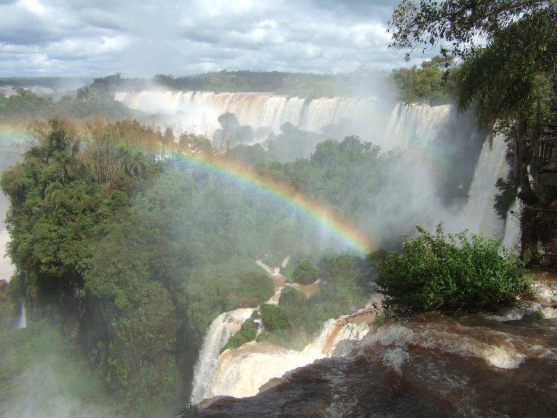 Rainbow at Iguazú