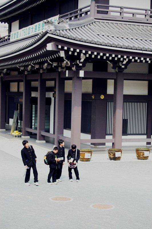 Kyoto school boys