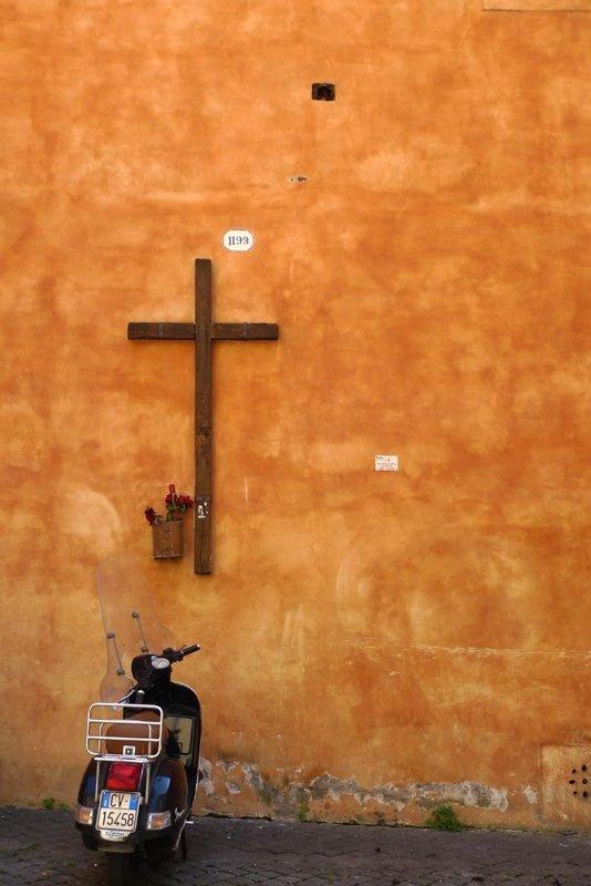 A Cross & A Bike = Cross-bike?