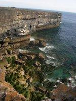 cliffs on inis mor.