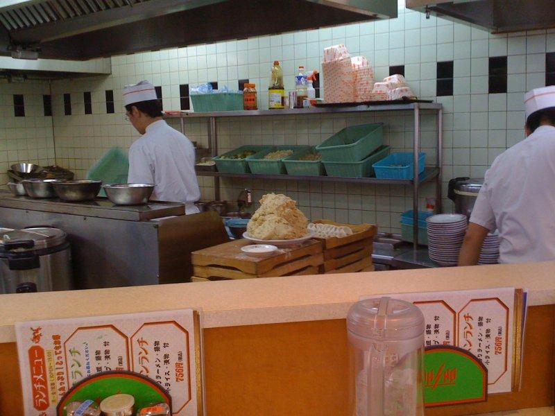 Gyoza production (delicious dumplings)