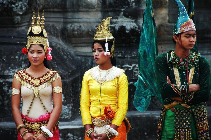 Dancers at Angkor Wat