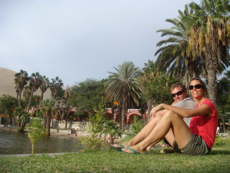 Huacachina Water