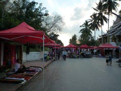 686 Setting up Night Market