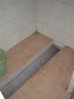 Trough toilet