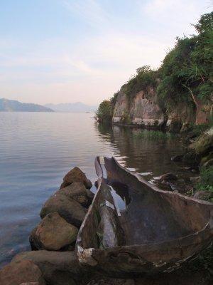 Boat on Lake Bureya