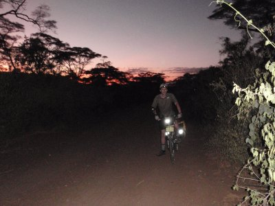 Early start from Marich Pass