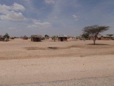 Dusty little village