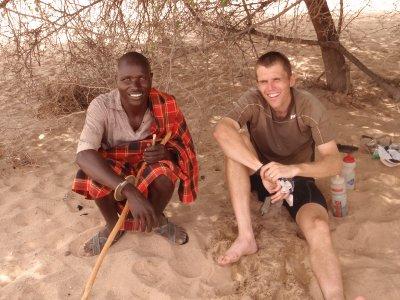 A companion in the desert