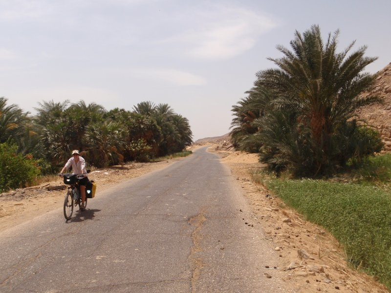 The west bank of the Nile