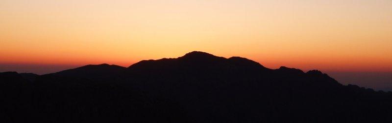 Sunset at Sinai