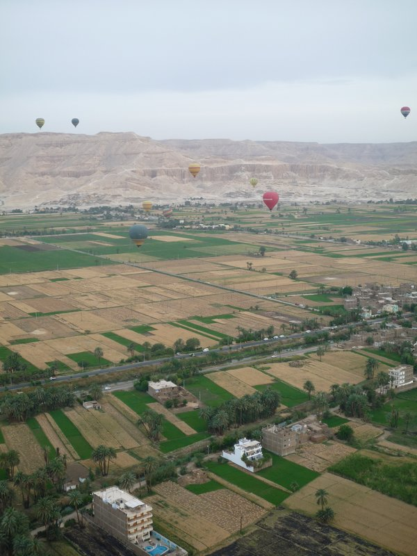 Luxor from the air