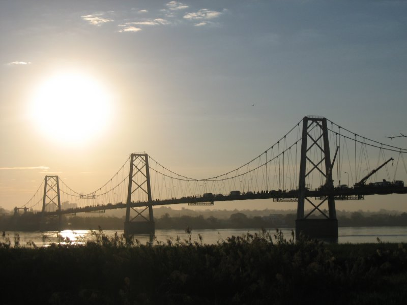 Sunrise over the Zambezi River, Tete
