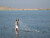 Fisherman Subh Beach inslet, The Gulf
