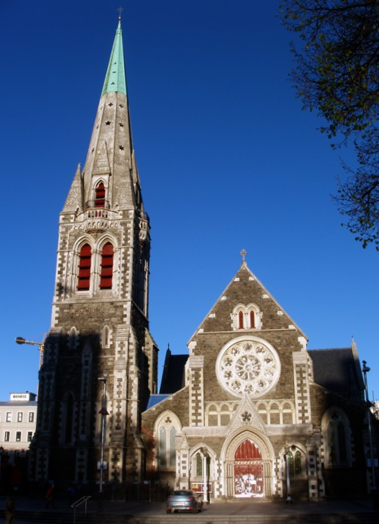 Cathedral Square in Christchurch