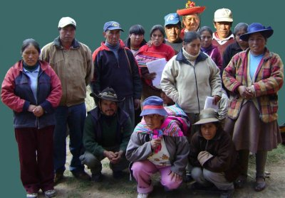 Cusi Ccoyllor De Chinchero Group, Peru.  Photo Courtesy of Kiva.org