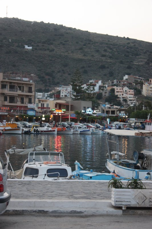 Elounda, Crete in the Evening