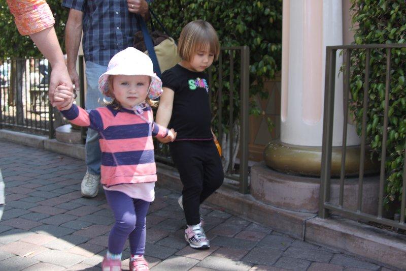 Girls at Disneyland