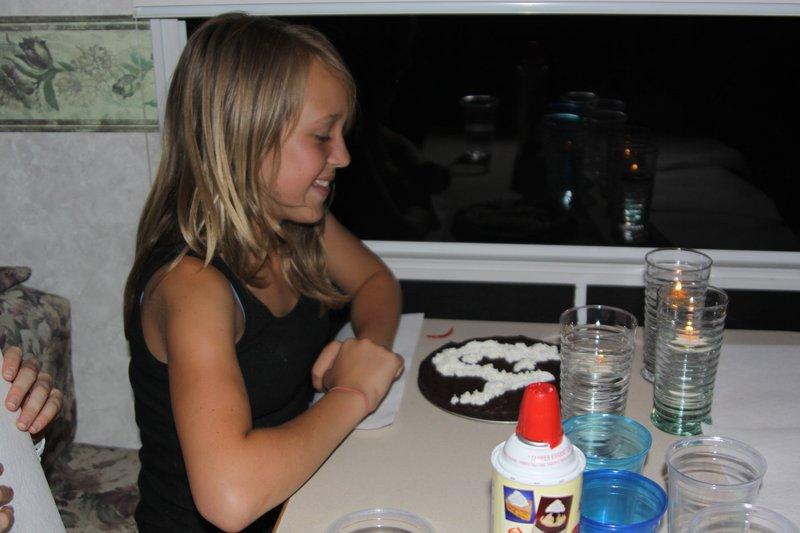 Bel's Birthday Brownie
