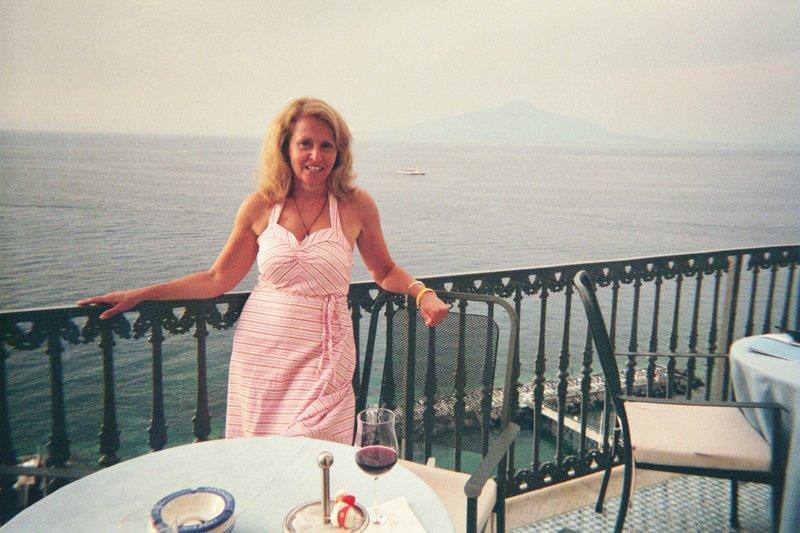 Me and Mount Vesuvius