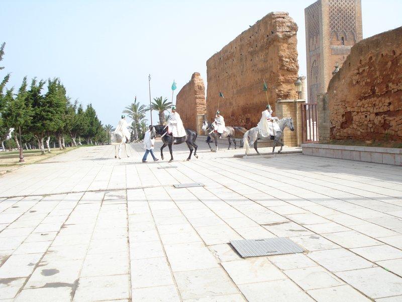 Andalusian wall Rabat