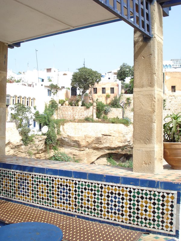 Cafe in Rabat