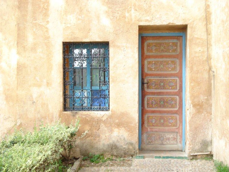 Doorway in Andalusian Garden